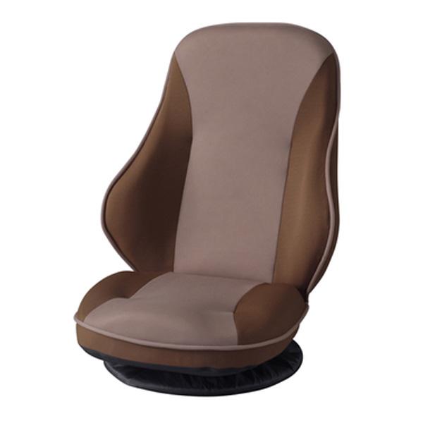 バケットリクライナー 1人掛け フロアチェア リクライナー 座椅子 座イス リクライニング 座り心地 ブラウン THC-202BR