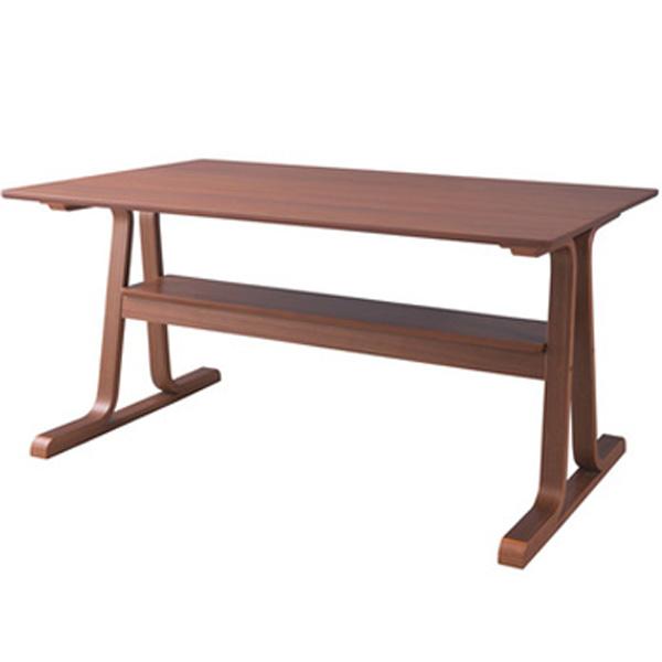 ダイニングテーブル 幅130×奥行80×高さ63cm 机 テーブル おしゃれ 天然木 木製天板 ブラウン ナチュラル VET-333TBR VET-333TNA