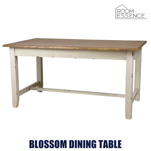 ダイニングテーブル 幅145cm 食卓 机 作業台 ビンテージ シンプル リビング 天然木 木製 デザイン ナチュラル COL-017