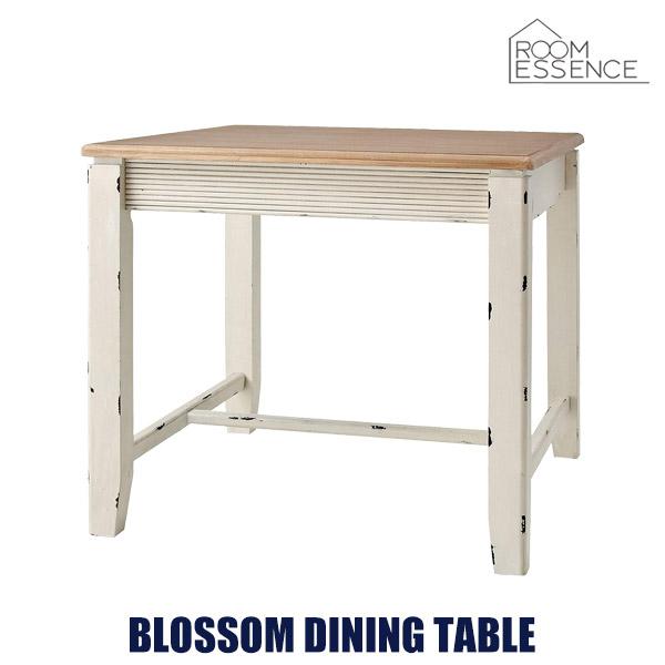 ダイニングテーブル 幅80cm 正方形 食卓 机 作業台 ビンテージ シンプル 天然木 木製 リビング デザイン ナチュラル COL-018