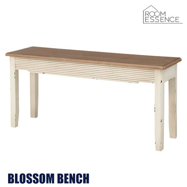 ダイニングベンチ 幅10cm 天然木 木製 食卓 椅子 いす チェアー チェア ビンテージ シンプル リビング デザイン ナチュラル フレンチアンティーク風 COL-027
