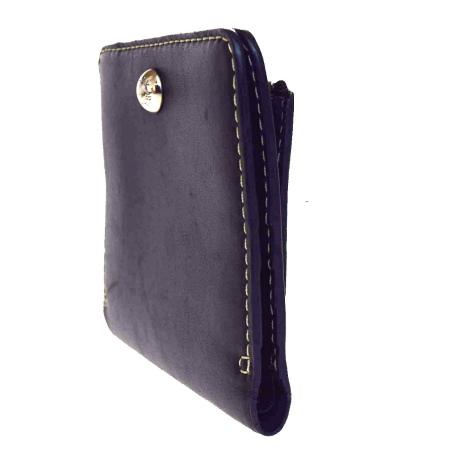 1f46558d26fd 送料無料 【中古】 中美品 BALLY 二つ折り 財布 ブラック レザー 07V1560 バリー-レディース財布