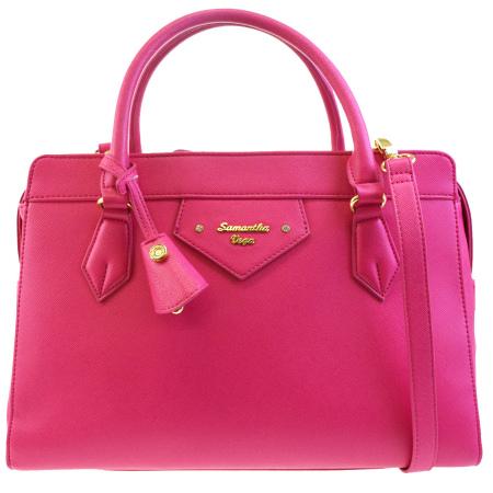 d9658276b7e Samantha Vega Samantha Vega handbag shoulder bag 2WAY bag pink leather  03HB164