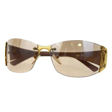 a09c30f0d2 Celine CELINE macadam sunglasses metallic brown gold plastic metal SC1214  09BA369