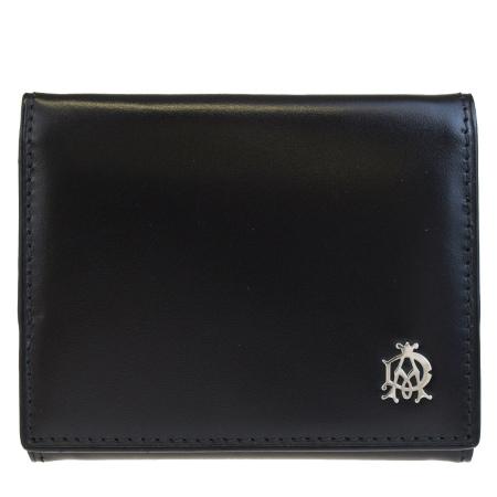 送料無料 【中古】 超美品 ダンヒル dunhill コインケース 小銭入れ 財布 ブラック レザー メンズ 02HB580