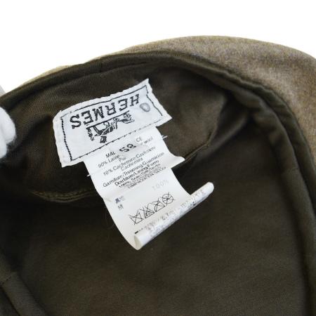 c326ae2632536 Super beautiful article Hermes HERMES beret hat brown wool cashmere 58cm  09BD940