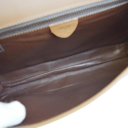 75b463f65c Rare Celine CELINE shoulder bag clutch bag 2WAY bag brown orange suede  leather 37L478