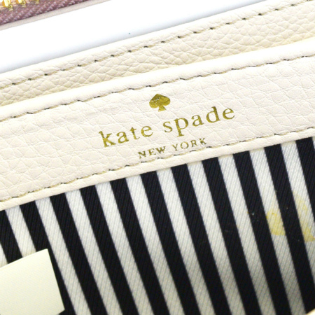 超美品 ケイトスペード kate spade ラウンドファスナー 長財布 ベージュ レザー PWRU1801 07HC081Nm0nOwv8
