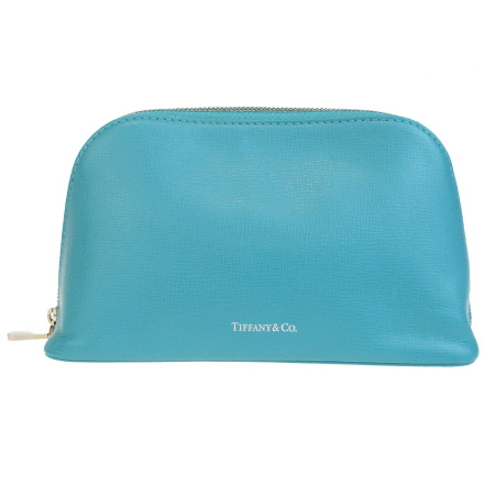 ef4bc61a373 Sotomi Product Tiffany Cosmetics Porch Makeup Bag Light Blue Leather 01be449