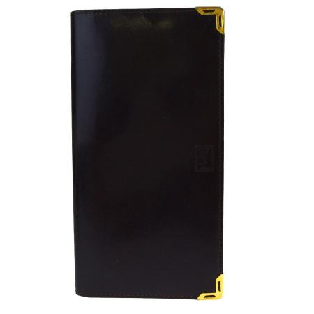 送料無料 【中古】 中美品 イヴサンローラン Yves Saint Laurent 二つ折り 長財布 ヴィンテージ ブラウン レザー 03BE564