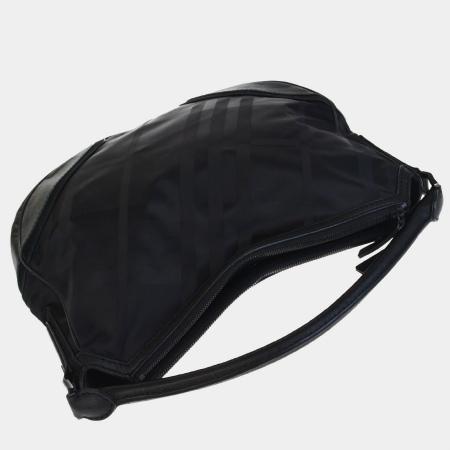 Beautiful article Burberry BURBERRY shoulder bag Novacek black nylon suede  leather 65EF613 0da1d06ddcb3d