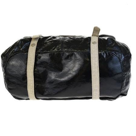 622497573fd Beautiful article Stella McCartney STELLA McCARTNEY handbag shoulder 2WAY  black enamel linen leather porch 01EG030 belonging to