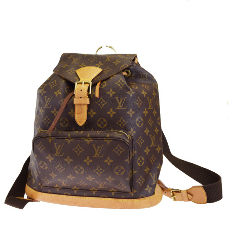 e88bf0050d36 送料無料 【中古】 ルイヴィトン LOUIS VUITTON モンスリ GM リュックサック バックパック バッグ
