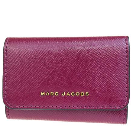 【中古】 超美品 マークジェイコブス MARC JACOBS 6連キーケース パープル レザー 03HD586