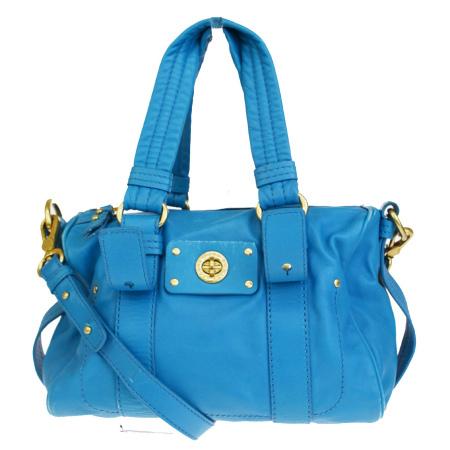 b106a139b7 Mark by mark Jacobs MARC BY MARC JACOBS handbag shoulder 2WAY light blue  leather 03HD842 ...