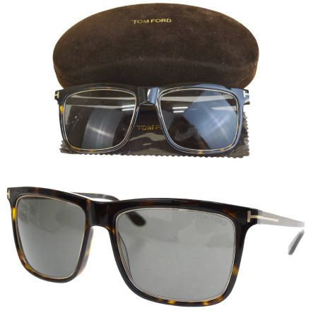 5a97b1227 TF392 66HE199 with the super beautiful article Tom Ford TOM FORD sunglasses  black bronze plastic metal ...