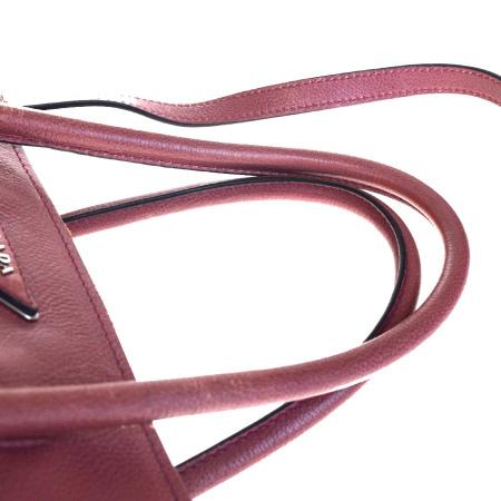 中美品 プラダ PRADA ハンドバッグ ショルダー 2WAY ピンク レザー 保存袋付き 88EQ684IYb6gv7yf