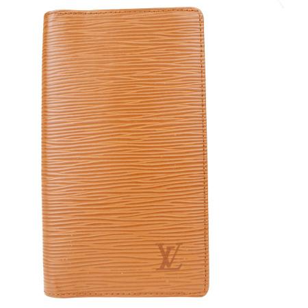 【中古】 ルイヴィトン LOUIS VUITTON アジェンダ ポッシュ 手帳カバー エピ ケニアブラウン レザー R20523 08ER165