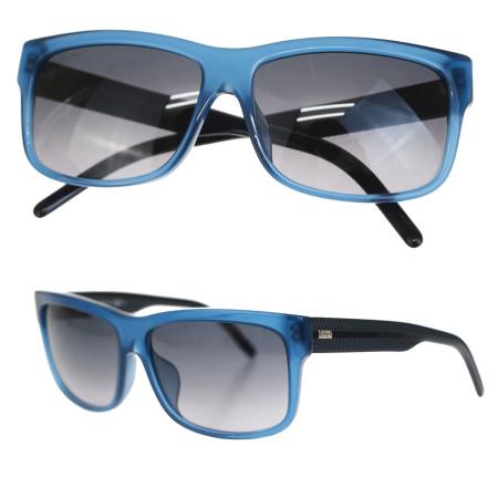 【中古】 美品 ディオールオム DIOR HOMME サングラス ブルー ブラック プラスチック BLACKTIE174FS 66ER233