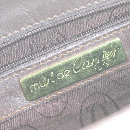 カルティエ Cartier マスト クラッチバッグ ボルドーレッド レザー 08ER266sdthCxrQ