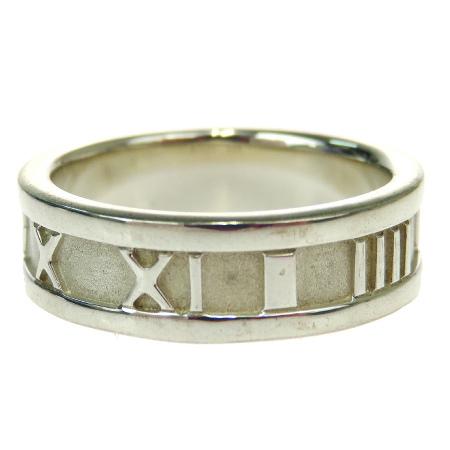 06BK128 925 シルバー アトラス TIFFANY ティファニー 12号 【中古】 指輪 リング 美品