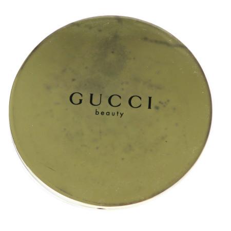 送料無料 【中古】 未使用 グッチ GUCCI ハンドミラー 手鏡 ゴールド メタル 03BK371