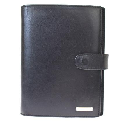 毎日 新商品を続々入荷しています!! 【中古】 グッチ GUCCI 手帳カバー アジェンダ ブラック レザー 01MH596