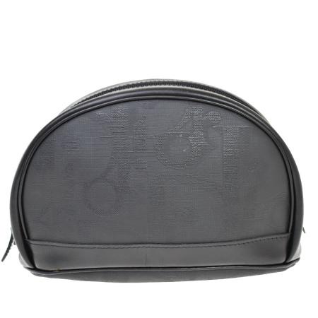 毎日 新商品を続々入荷しています!! 【中古】 中美品 クリスチャンディオール Christian Dior クラッチバッグ ポーチ ブラック PVC レザー 07JE169