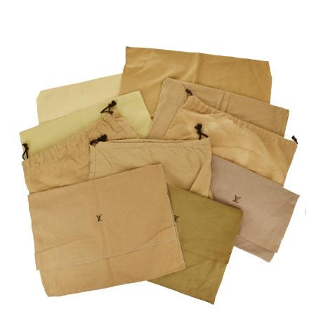 毎日 新商品を続々入荷しています 中古 10点セット ギフ_包装 ルイヴィトン 5☆大好評 LOUIS バッグ 保存袋 VUITTON 03JE316
