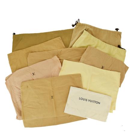 毎日 新商品を続々入荷しています 中古 10点セット 店内限界値引き中&セルフラッピング無料 ルイヴィトン 保存袋 LOUIS VUITTON バッグ 07JE317 お得なキャンペーンを実施中