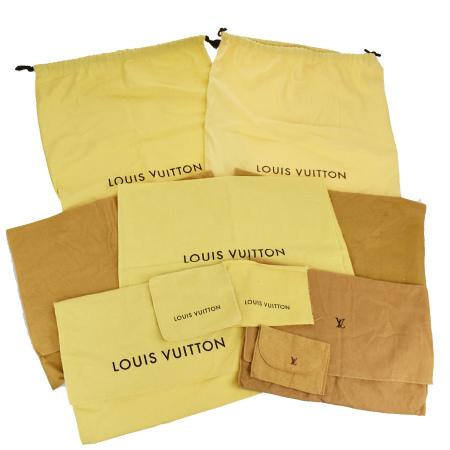 毎日 新商品を続々入荷しています 信託 中古 10点セット ルイヴィトン 保存袋 通販 激安 02MK364 LOUIS バッグ VUITTON
