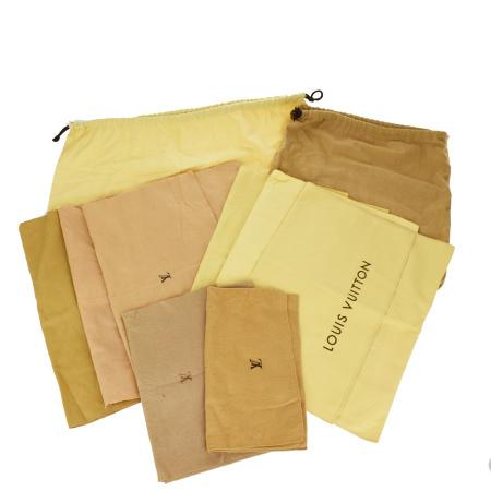 毎日 ショッピング 希少 新商品を続々入荷しています 中古 10点セット ルイヴィトン バッグ 保存袋 VUITTON 09MK456 LOUIS