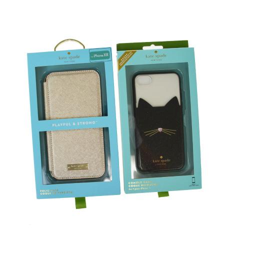 【中古】 ケイト・スペード(Kate Spade) 2点セット レザー 手帳型/カード入れ付きケース iPhone 7 対応 ゴールド 08GB351