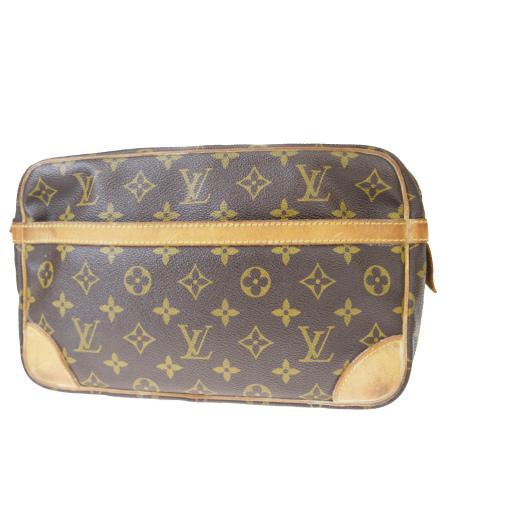 【中古】 ルイ・ヴィトン(Louis Vuitton) モノグラム コンピエーニュ 28 M51845 クラッチバッグ 09GB483