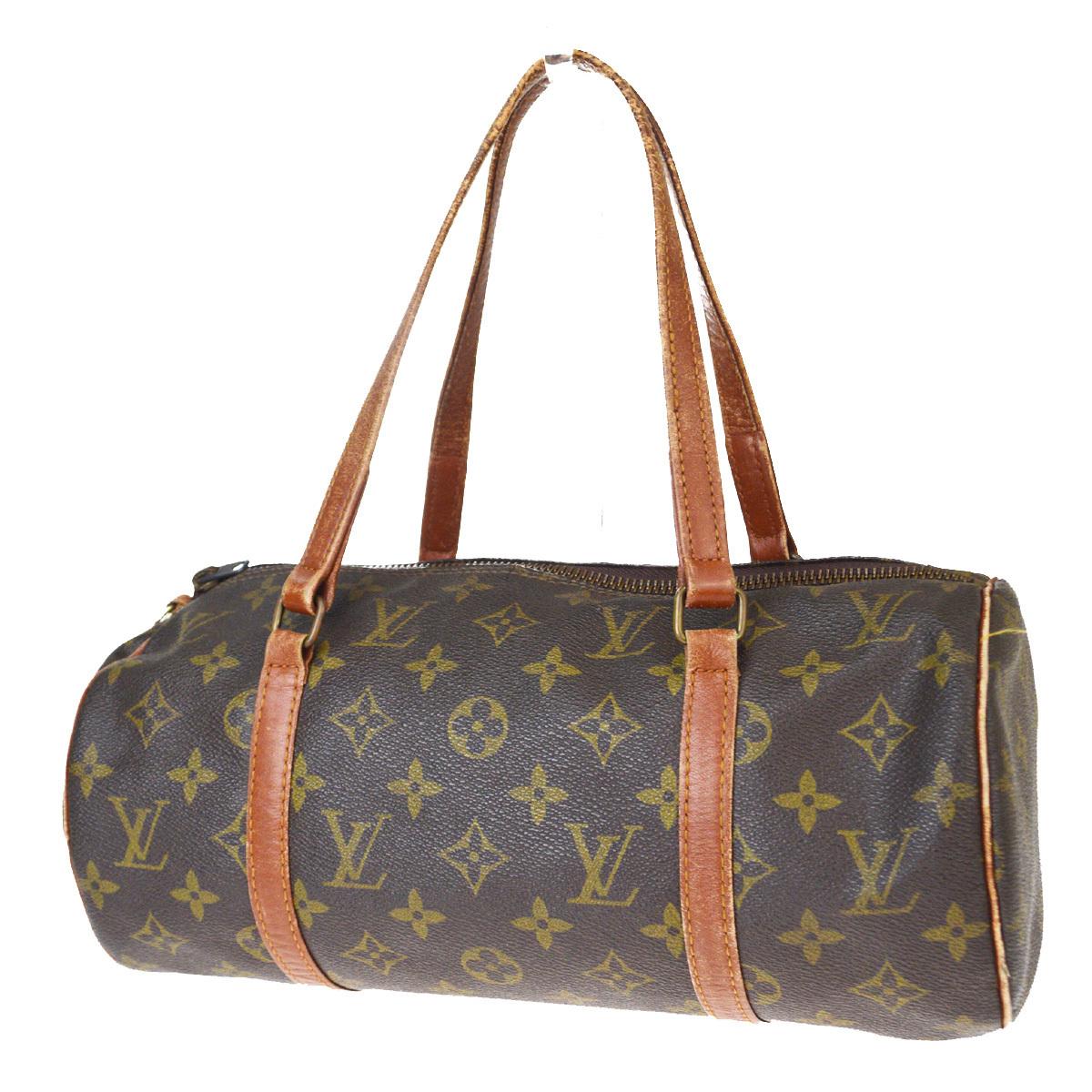 【中古】 ルイ・ヴィトン(Louis Vuitton) モノグラム M51385 パピヨン 30 ハンドバッグ 08GB542