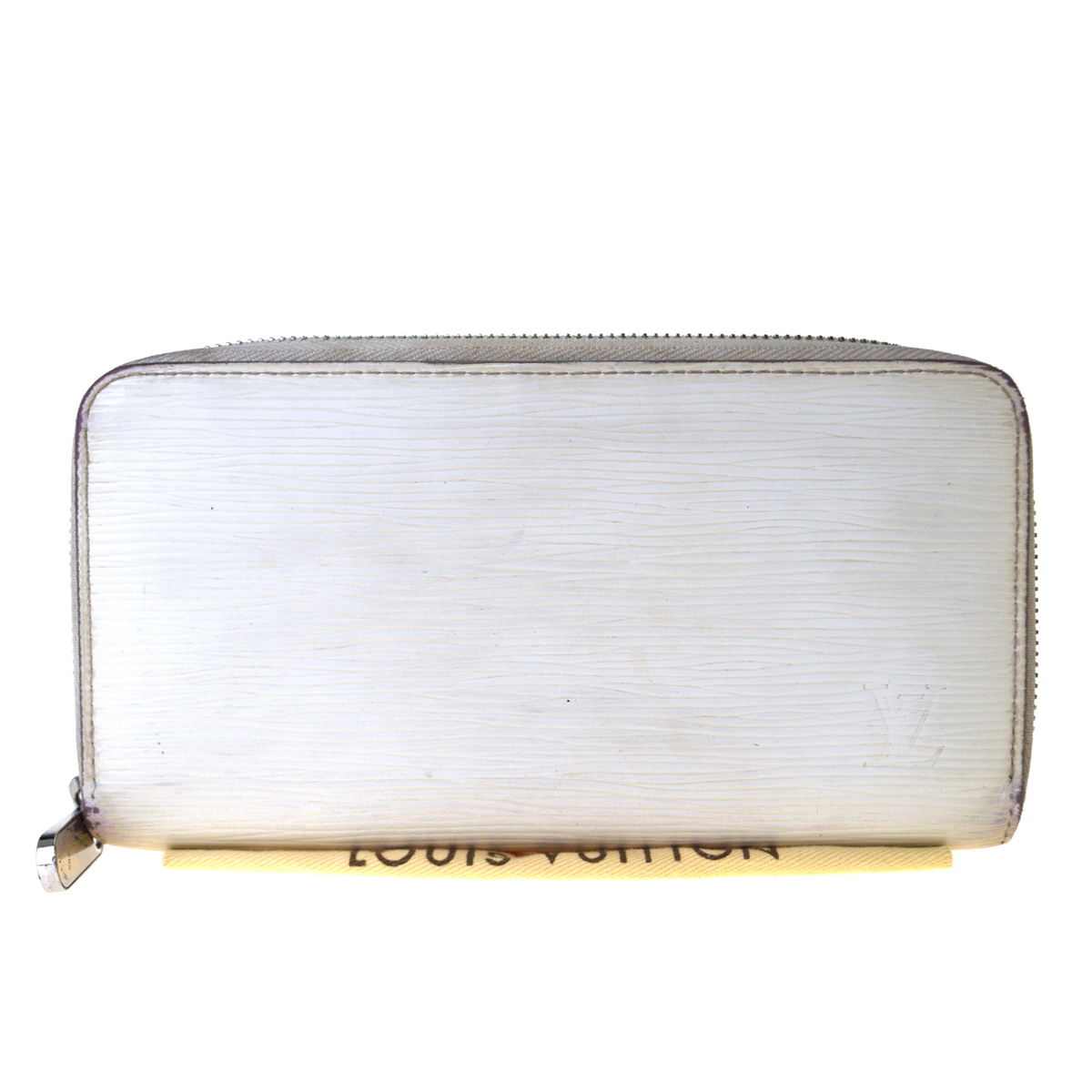 【中古】 ルイ・ヴィトン(Louis Vuitton) ジッピー ウォレット M6007J エピレザー 長財布(二つ折り) ホワイト 07PA187
