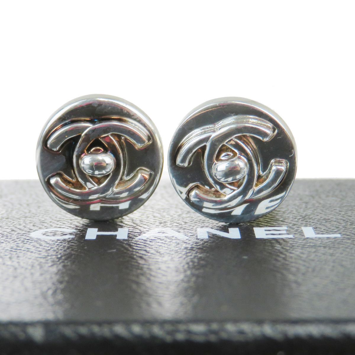 【中古】 シャネル(Chanel) ココマーク 97A メタル クリップイヤリング 04FA526