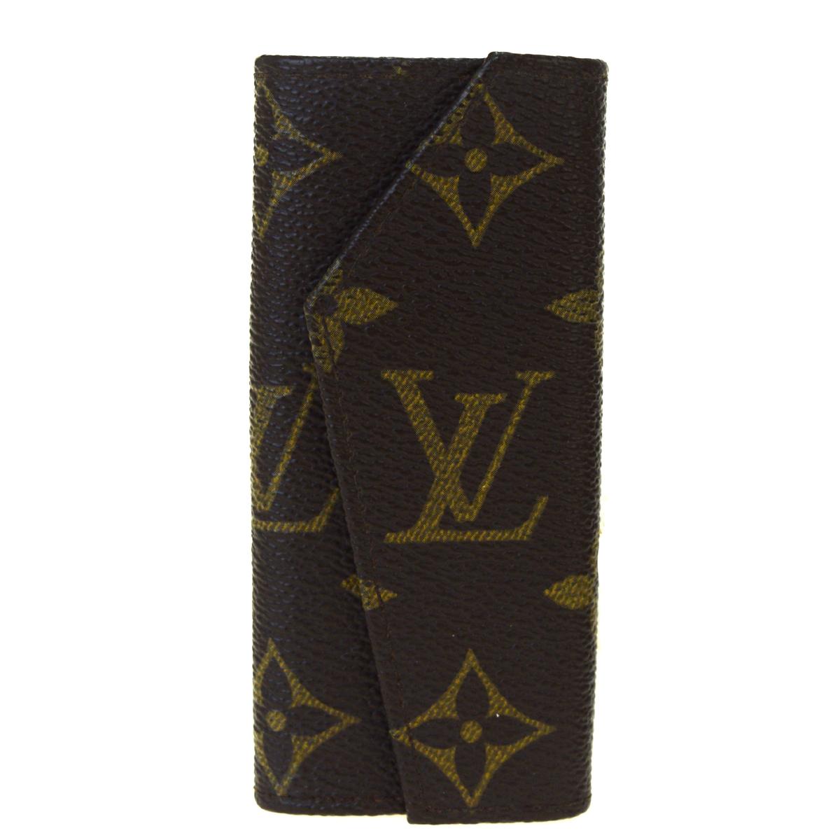 【中古】 ルイ・ヴィトン(Louis Vuitton) モノグラム モノグラム キーケース ブラウン 08FA539
