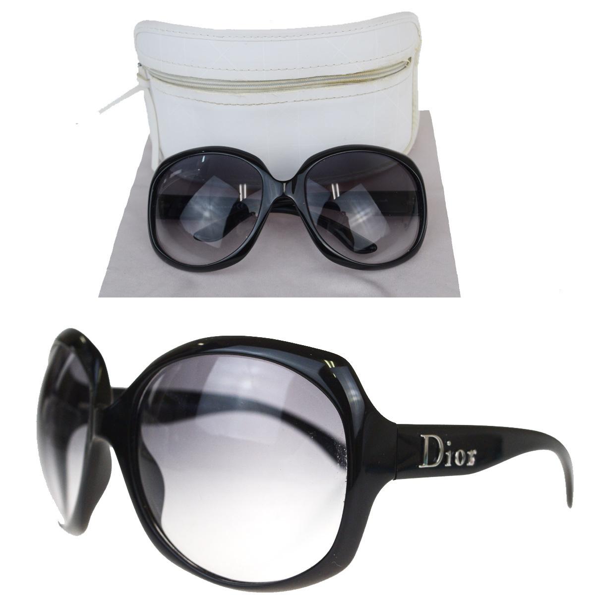 【中古】 クリスチャン・ディオール(Christian Dior) サングラス ブラック DIOR GLOSSY 1 584LF 08FA936