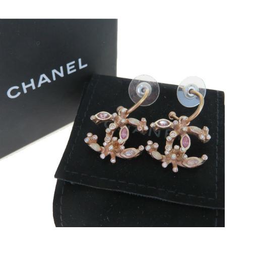 お気に入りの 【】 シャネル(Chanel) ココマーク B16A ラインストーン メタル ドロップピアス ブロンズ 62GB033, キサラヅシ 9781bc9c