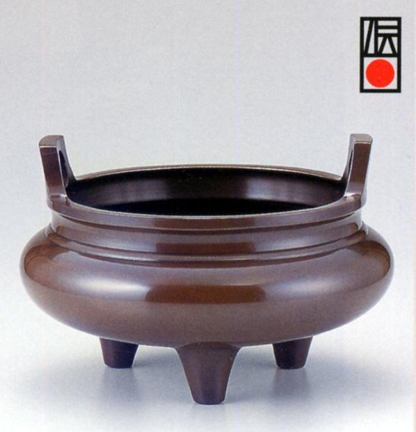 茶器・茶道具■ 上手小瓶掛 ■銅製 紙箱入り【高岡銅器】