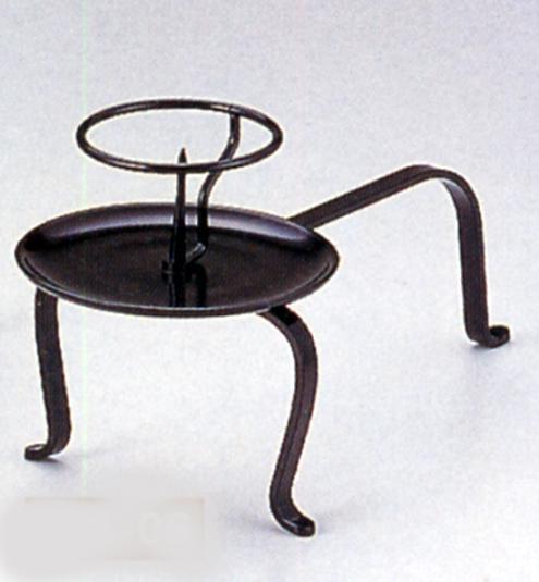 茶器・茶道具■ 手燭 唐銅 ■銅製 紙箱入り【高岡銅器】u85-07