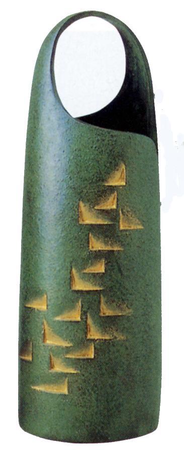 花器・花瓶■ 花器 陽(よう)■馬場忠寛作 青銅(ブロンズ)製 桐箱入り【高岡銅器】