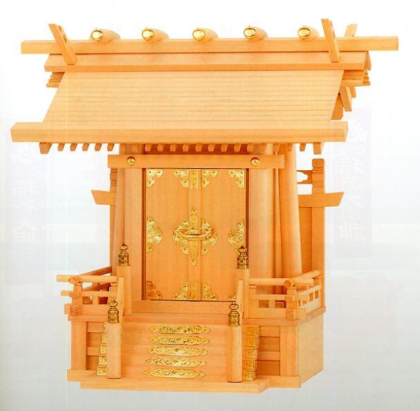 お宮 神棚 神殿■ 極上本神明一社 ■尾州檜【日本製】