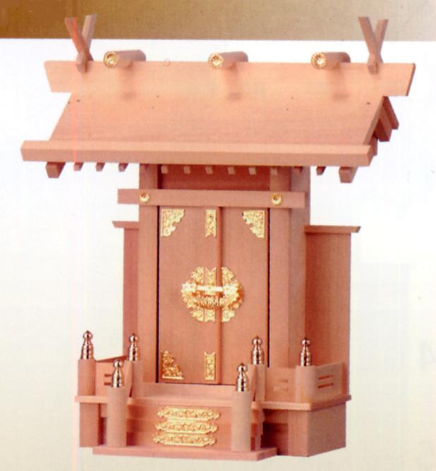 お宮 神棚 神殿■ 中神明 ■檜製神殿【日本製】