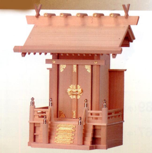 お宮 神棚 神殿■ 大々神明 ■檜製神殿【日本製】