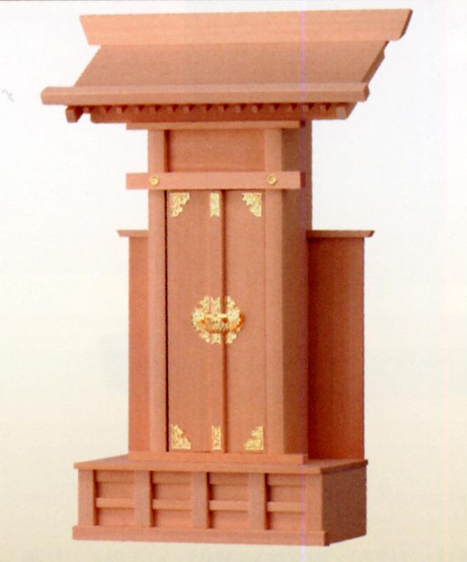 お宮 神棚 神殿■ 大札宮 特大 ■檜製神殿【日本製】