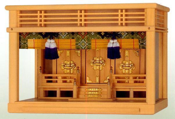 お宮 神棚 神殿■ ガラス宮 18号 ■箱宮【日本製】