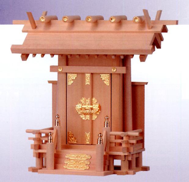 お宮 神棚 神殿■ 神明一社 中 ■特撰神殿【日本製】