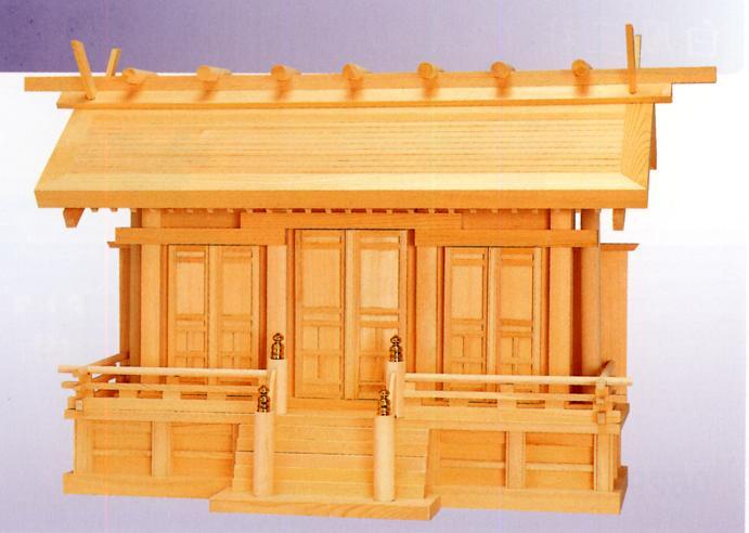 お宮 神棚 神殿■ 鳳凰 中 ■特撰神殿【日本製】
